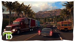 EXTREME PARKING MANEUVERS | American Truck Simulator #2