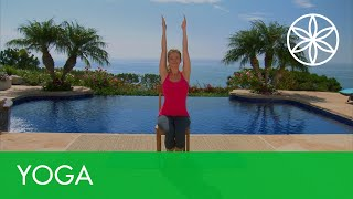 Beginners Yoga Chair Practice with Chrissy Carter | Yoga | Gaiam