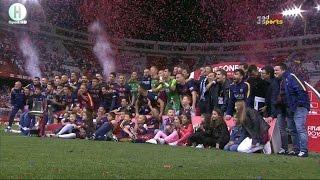 ملخص  مبارة نهائي كأس ملك اسبانيا بين برشلونة و إشبيلية 2-0 كأس ملك اسبانيا 22-5-2016