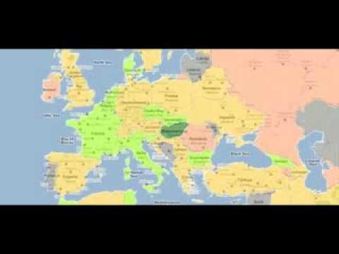 World Penis Size Map!