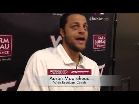 Post-Scrimmage 8/22 with Aaron Moorehead