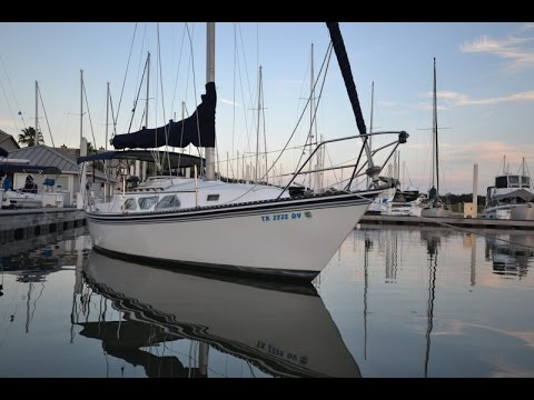 1988 Newport 28 MKII Sailboat For Sale At Little Yacht Sales Kemah Texas YouTube