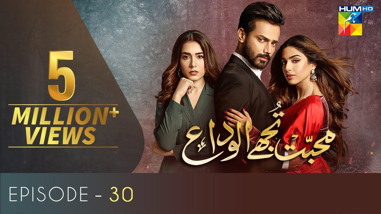 Download Mohabbat Tujhe Alvida   Episode 30   Eng Sub   Digitally Powered By Master Paints   6 Jan 2021
