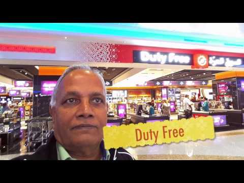 DUBAI International Airport : Food Court Duty Free Shops Terminal 1 Gates