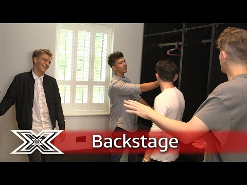The X Factor Backstage with TalkTalk | Roman Kemp tours the Contestants  House!