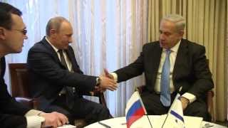 Repeat youtube video PM Netanyahu Meets with Russian President Putin in Jerusalem