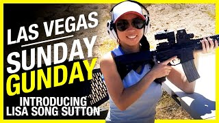 Sunday GunDay with Lisa Song Sutton: Sig Sauer p365, Sig Sauer p229, Knights SR-15, FN Herstel 57