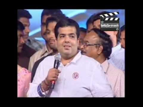 Prakash Mehra(Original Zanjeer Maker)'s Son Amit Mehra on Ramcharan Zanjeer Announcement.flv