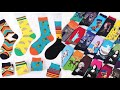 HSELL Mens Colorful Dress Socks Argyle