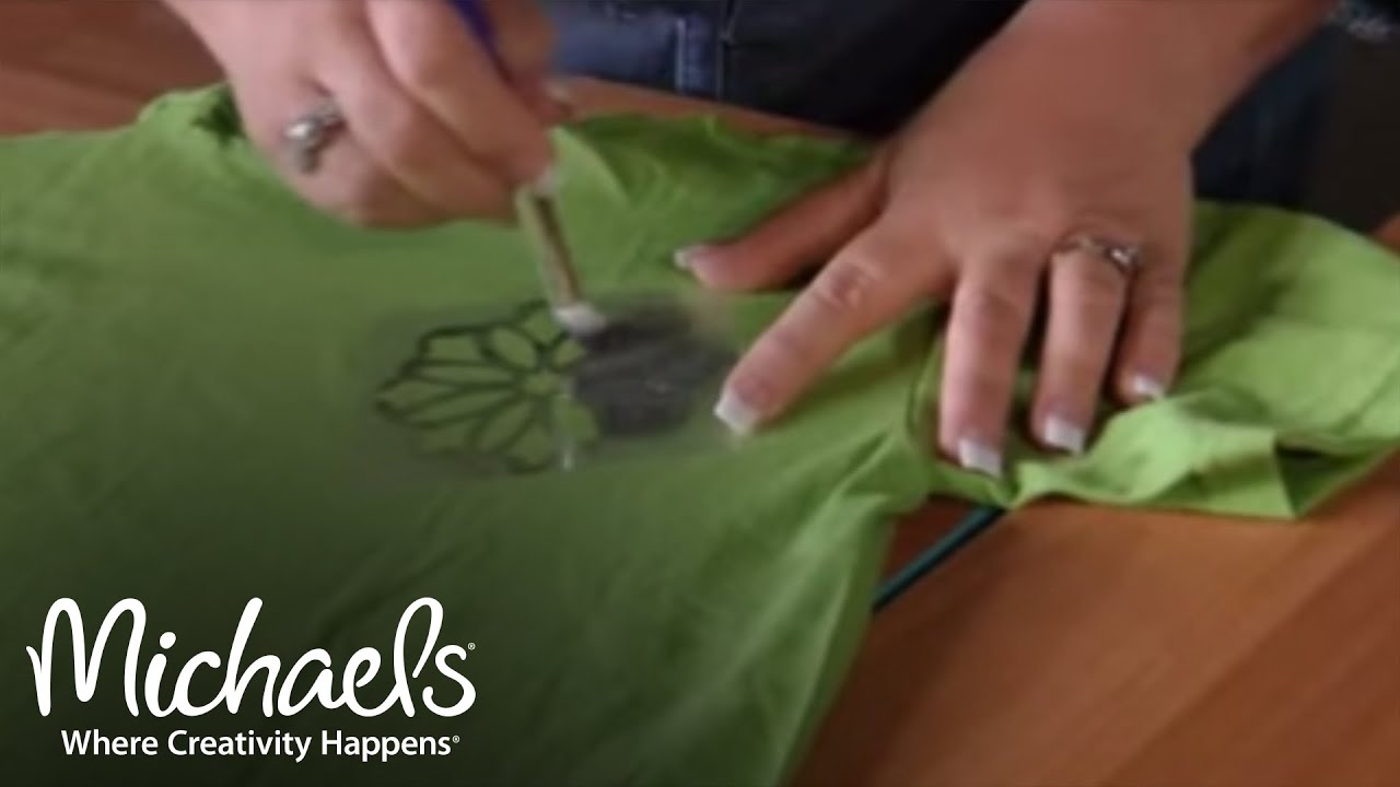 painting on tshirts michaels youtube