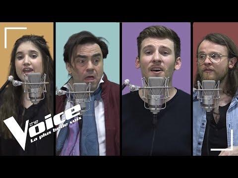 Happy Ending (Mika)   Guillaume, Casanova, Frédéric Longbois, Sherley Paredes   The Voice...