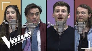 Mika - Happy Ending | Casanova, Frédéric Longbois, Guillaume,Sherley Paredes|The Voice 2018 |La Vox