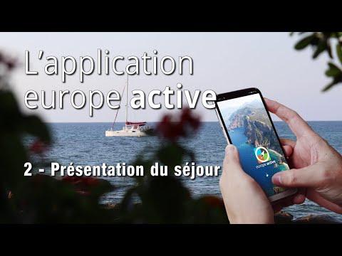 Application Europe Active - Présentation