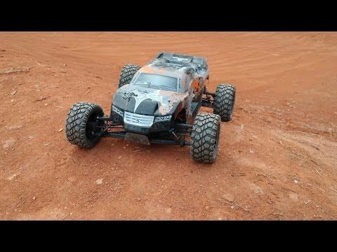 ECX Circuit 1/10 4WD Stadium Trucktrack run 2 of 3