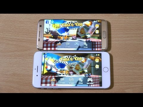 iPhone 7 Plus vs Samsung Galaxy S7 Edge -...