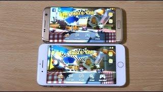 iPhone 7 Plus vs Samsung Galaxy S7 Edge - Gaming Comparison!