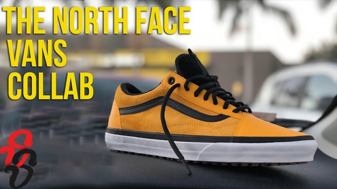 fca903f7ca Vans x The North Face Review   On Feet - YouTube