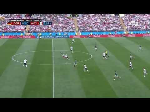 Alemania 0 - (1) México Gol del Chucky Lozano