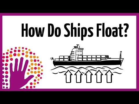 How do ships float?