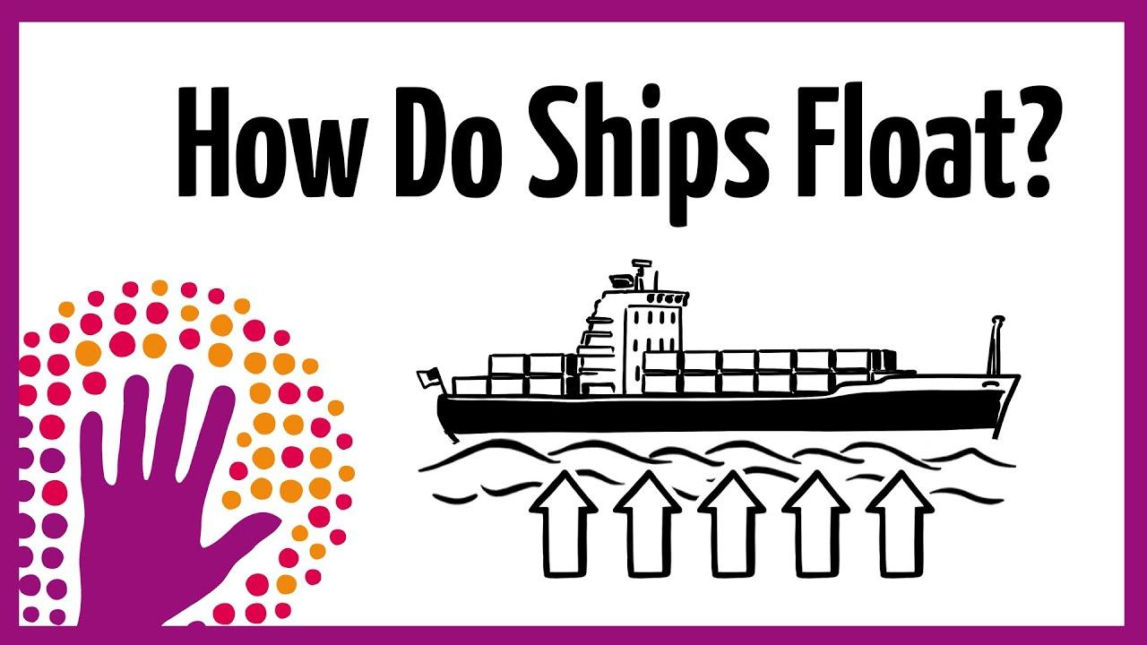How do ships float? - YouTube