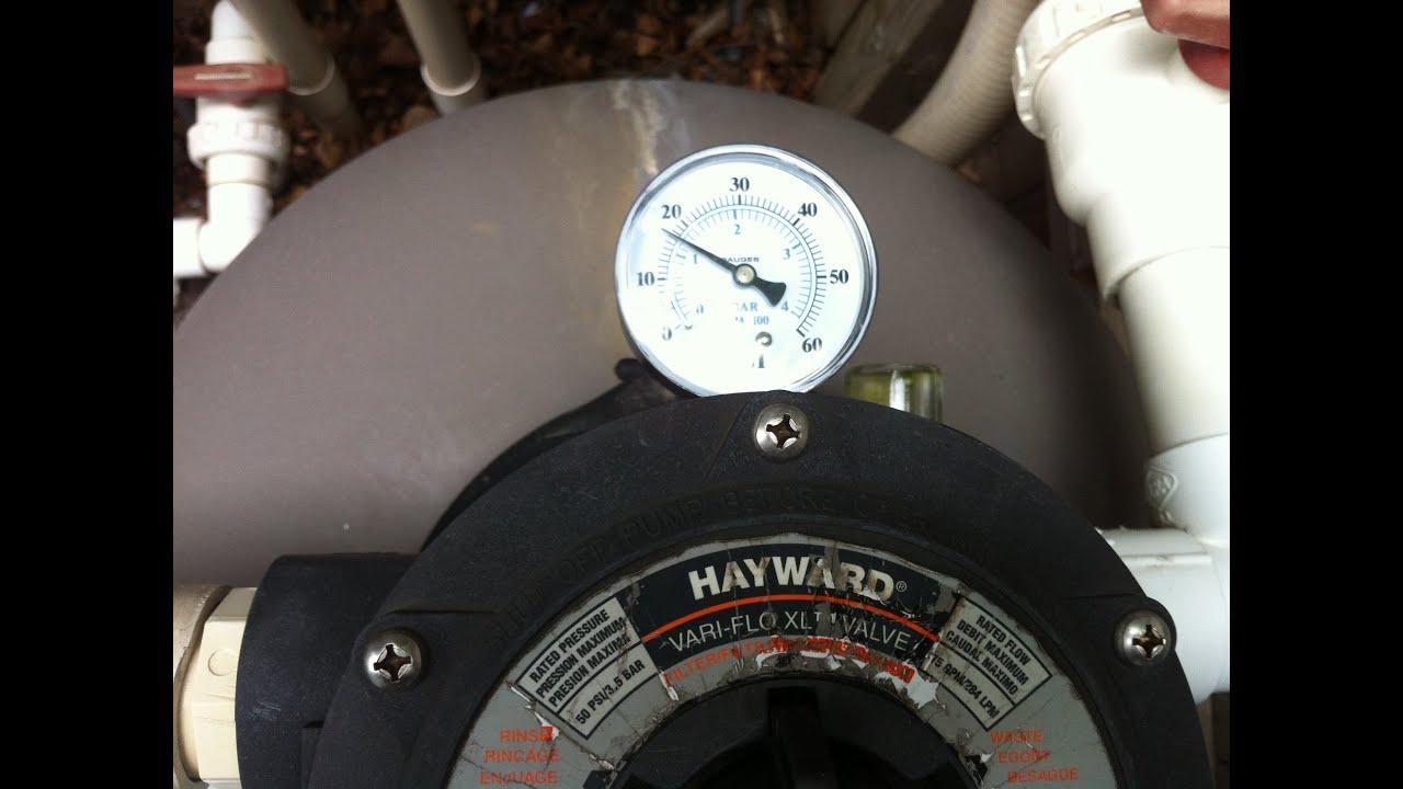 Pool Filter Leaking Through Backwash