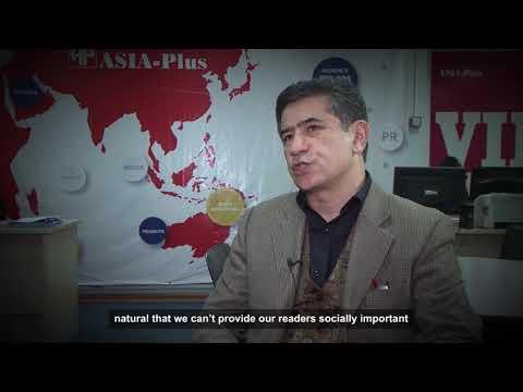 World Press Freedom 2018: Umed Babakhanov, Media Owner, Tajikistan