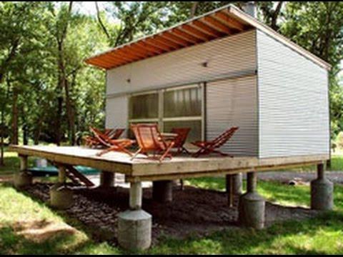 Небольшие дачные дома - классные идеи загородных домиков