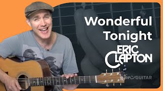 How to play Wonderful Tonight by Eric Clapton (Beginner Song Guitar Lesson BS-906) Mp3