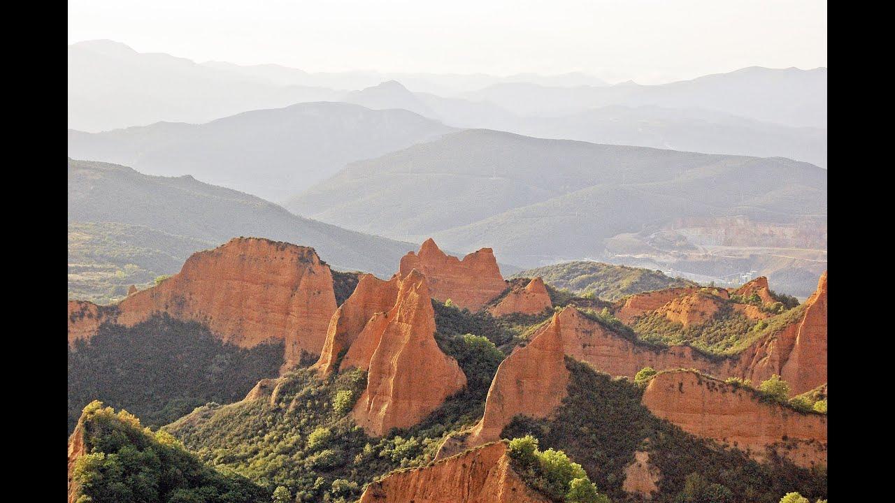 Las Medulas (Spagna) Miniera doro Romana - Roman gold mine UNESCO - YouTube