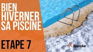 Hivernage de la piscine - Etape 7 : recouvrir la piscine