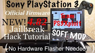 Sony PlayStation 3 ( PS3 ) [ EASY & NEW! 4.82 Jailbreak / Hack Tutorial ] - Team PS3Xploit - MrMaD