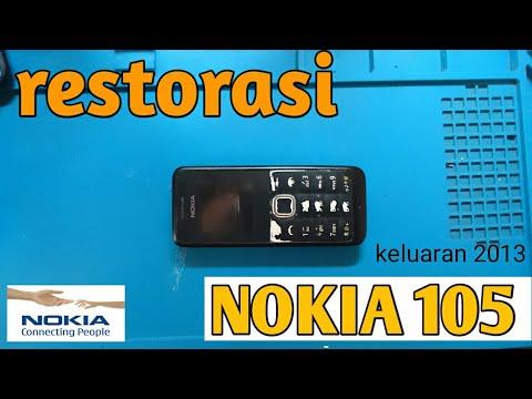 restorasi-nokia-105-old-#lampu-lcd-nokia-105