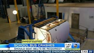 Seat Belts on School Buses - ABC NEWS - GMA Story