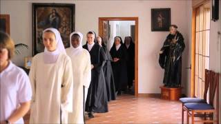 Monjas Agustinas, Así somos, así vivimos parte1.wmv
