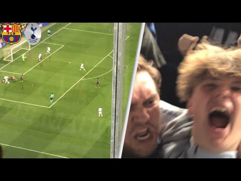 Barcelona 1-1 Tottenham! Must Qualify Champions League Game! Match Day Vlog!