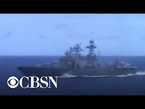 U.S. Navy: Russian destroyer almost collided with cruiser