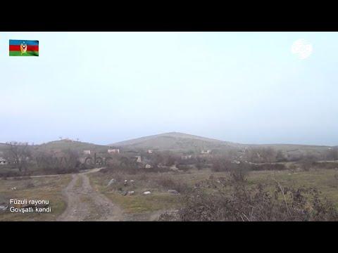 Видеокадры села Говшатлы Физулинского района