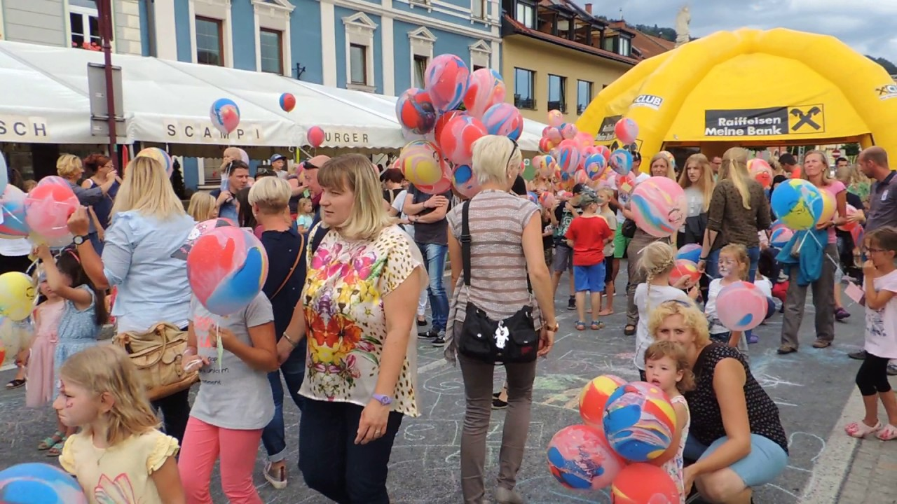 Genussfestival 2017 Kinderprogramm Luftballonstart Youtube