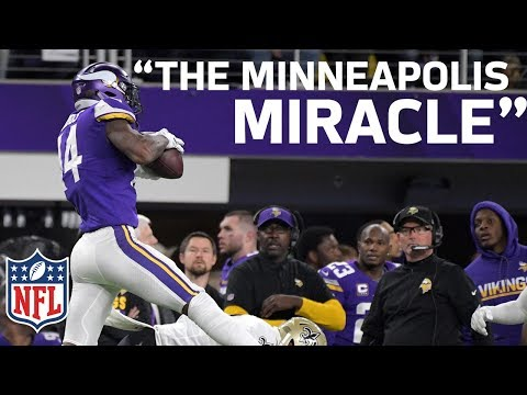 Home Radio Broadcasters Freak Out on Stefon Diggs Walk-Off Minneapolis Miracle TD! | NFL Highlights