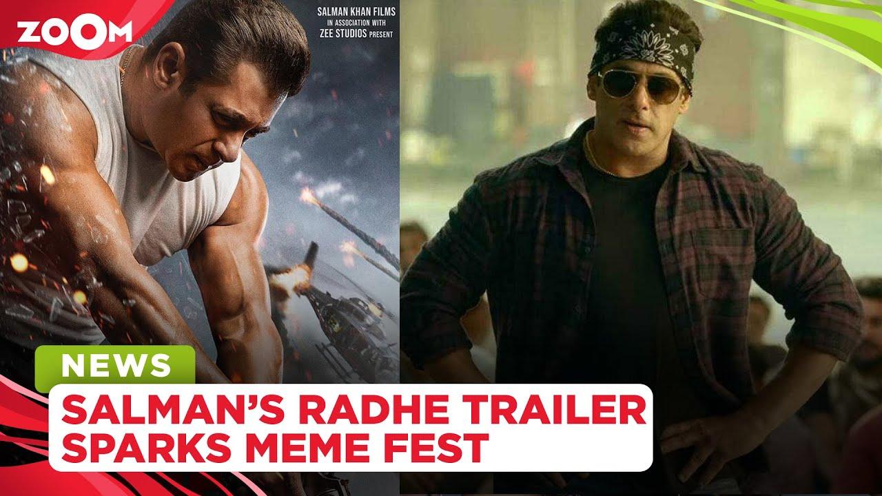 Salman Khan's Radhe: Your Most Wanted Bhai trailer sparks a hilarious meme fest