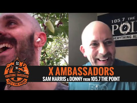 Sam from X AMBASSADORS talks K.Flay - grandson collab, what touring might look like, more!