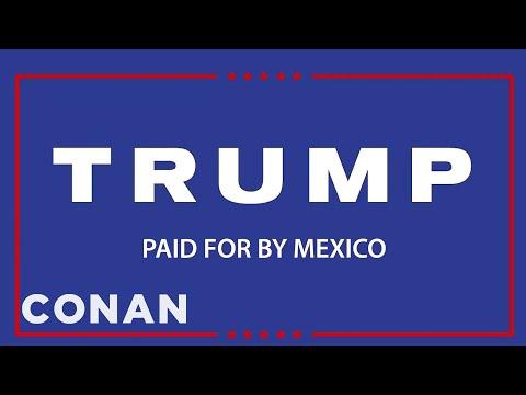 Donald Trump's First TV Ad  - CONAN on TBS