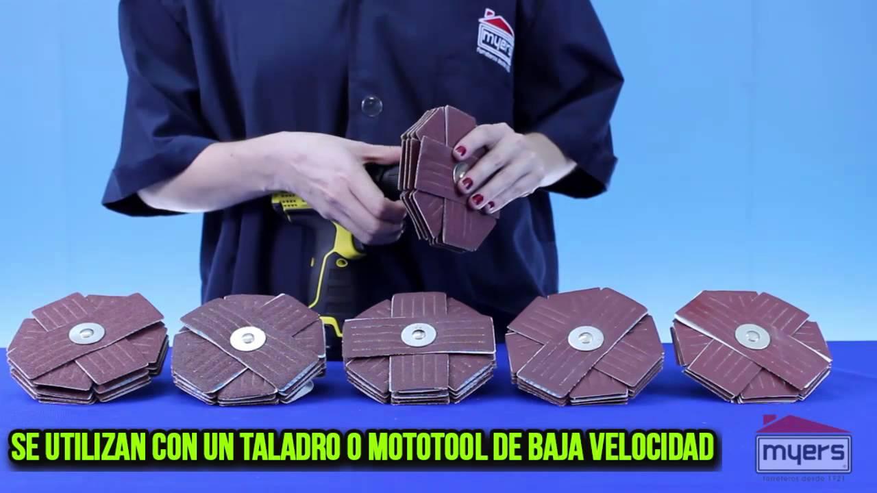 Lijas para usar con taladro youtube - Lija para taladro ...