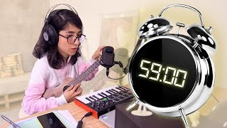 criando uma música em 1 HORA| bianca malfatti