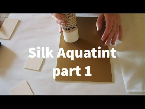 Silk Aquatint Part 1 With Hannah Skoonberg