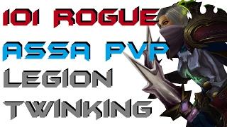 Theyzha - Level 101 Assasination Rogue Twink PvP - Legion Patch 7.1.5