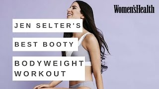 Jen Selter Best Bum Workout Exercises Using Your Body Weight