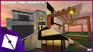 ROBLOX Studio | Modern House [Building and Designing] #2