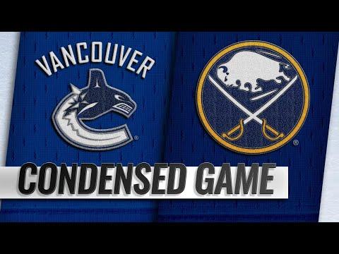 11/10/18 Condensed Game: Canucks @ Sabres