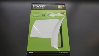 Mohu Leaf Curve 50 Mile TV Antenna REVIEW | Best TV Antenna